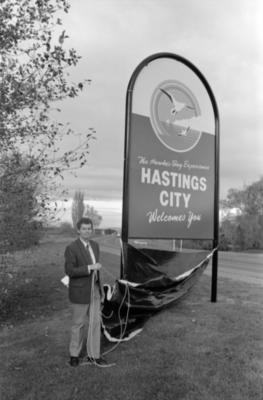 Hastings Mayor, Jeremy Dwyer