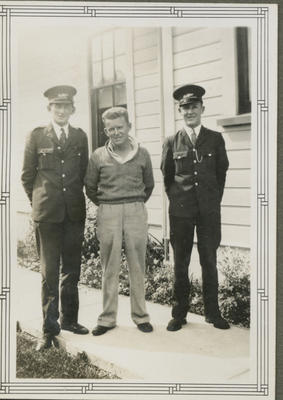 Percy Hamlin in Post Office uniform