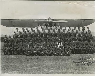 RNZAF Wellington Squadron, Blenheim, 1938
