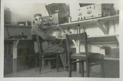 RNZAF wireless operator