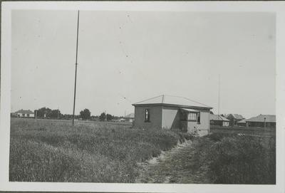 Hut at Wigram Air Force base
