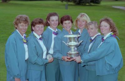 National Women's interprovincial Golf Champions
