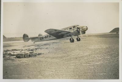 Lockheed Electra ZK-AFD aeroplane Kuaka