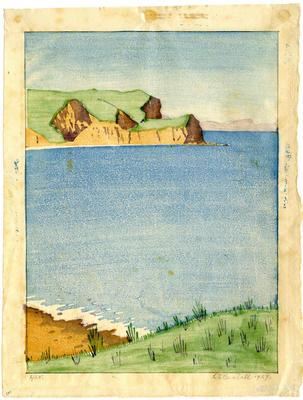 Untitled - coastal scene