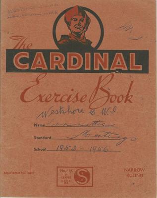 Minute book, Westshore CWI, 1953-1956; Westshore Women's Institute; 2020/45/3