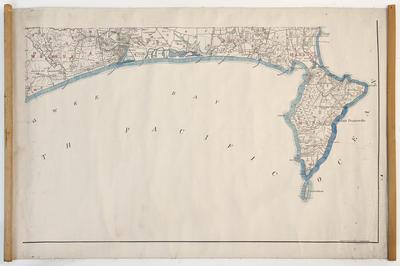 Map, Wairoa and Mahia Peninsula