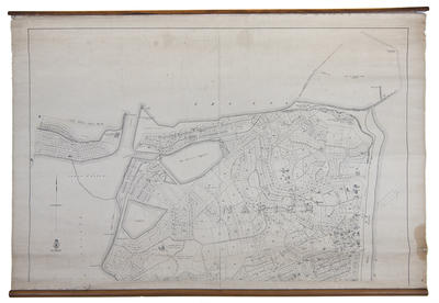 Map, Borough of Napier; Humphries, Thomas; Department of Lands & Survey