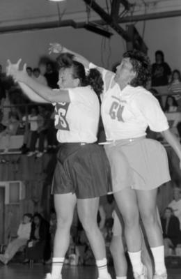 Jocelyn Brown and Debbie Ross