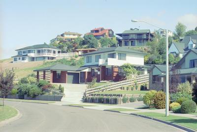 Housing area in Taradale