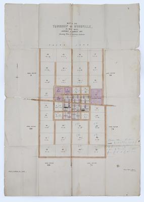 Map, Woodville; Department of Lands & Survey
