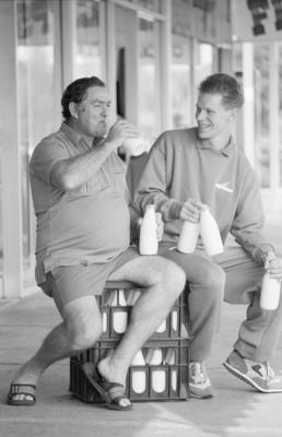 Brian Nicholas and Murray Burgess