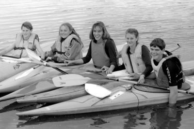 From left: Matthew Mitchell, Tania McCoard, Pippa McKelvie, Sarah Mitchell and Hamish Norton.