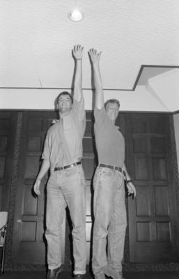 John Fowler and Bill Davison