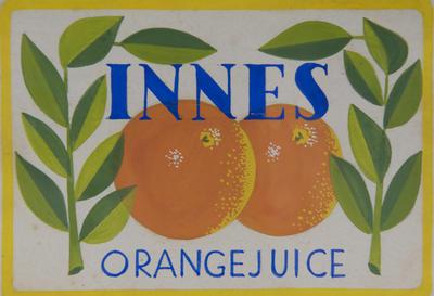 Innes Orange Juice; Carpay, Franciscus Hubertus Johannes; 2000/20/105