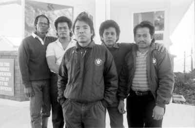 Five Indonesian crewmen