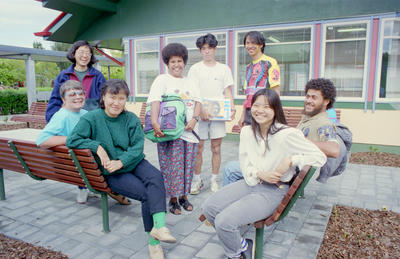 Julie Tan, Parish Rhodes, Hyun Young Shin, Leleto Bate, Kazu Higashi, Warathan Makarabhirom, Nithinan Lohaipiboon and Rodrigue Tiavouane
