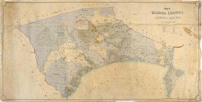 Map, Wairoa County, Hawke's Bay County, 1882; Duncan, George; 58/60