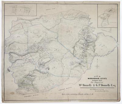Plan, Mangaohane Estate, 1906