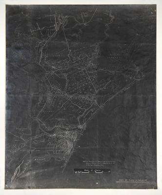 Map, Porangahau land block; Koch, Augustus Karl Frederick
