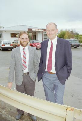 Don Clark and John Webby