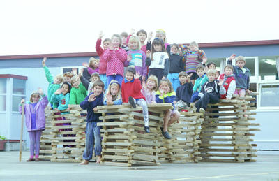 Room 7 pupils at Napier's Port Ahuriri School