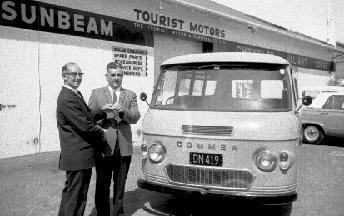 Hastings Jaycees donate van to the IHC Society