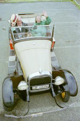 Vintage Car to Dunedin
