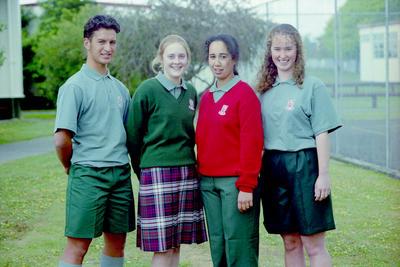 Jeremy Hunt, Anna-Mai Hoek, Tryphena Cracknell and Kathryn Newton
