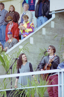 Debbie Harwood and Rikki Morris