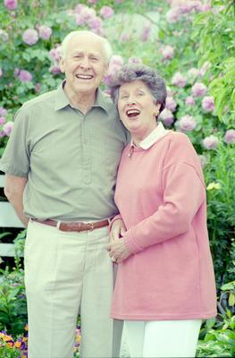 Bob Houston and Dawn Unsworth