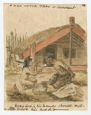 A Man Under Tapu or Sacrosanct; Robley, Horatio Gordon