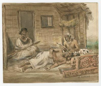 The Tohunga Ta Moko; Robley, Horatio Gordon