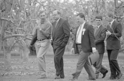Peter Reynolds, Mike Moore, Bob McFarlane and Jack Elder