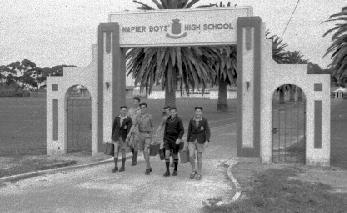 Memorial gates, Napier Boys' High School
