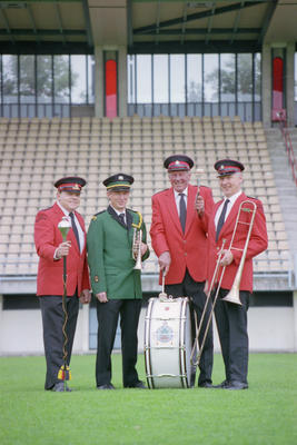 Don Copas, Norm Olsen, Peter Wrightson and Bill Robson