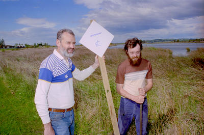 Craig Daly and Harry Osborne