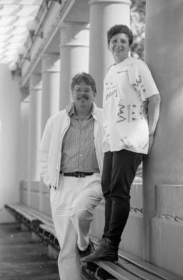 Lawrence Kreisman and Mitzi Mogul