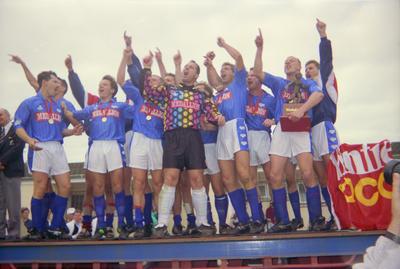 Blues soccer team