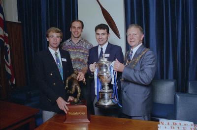 Andy Birchenough,  Mick Waitt, Colin Stone and Alan Dick
