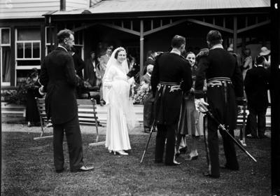 Holmes - Russell wedding