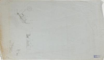 Plan, details of entrance to Tiffen Park; Napier City Council