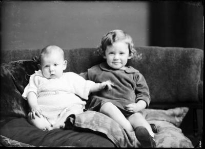Unidentified child and infant