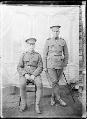 Unidentified men in uniform