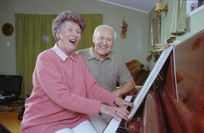 Dawn Unsworth and Bob Houston