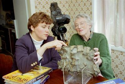 Karina Kelly and  Joan Wiffen