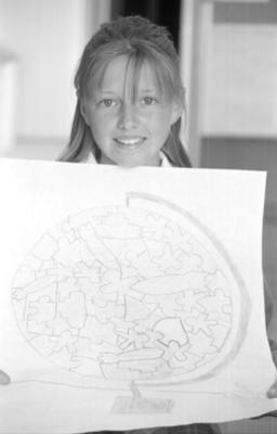 Wycliffe Intermediate pupil Natasha Grimmett