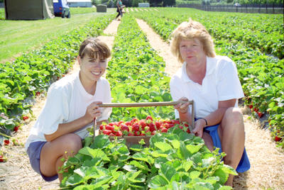 Sally Bedford and Barbara Ackroyd