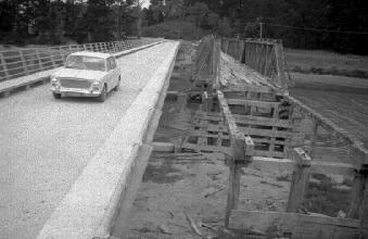 New Makaramu bridge near Porangahau Beach