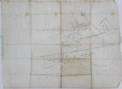 Map, portion of B Chambers Te Mata Estate