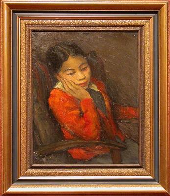 Portrait of a Maori Girl